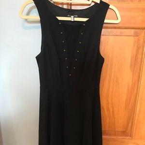 Express A-Line Black Dress